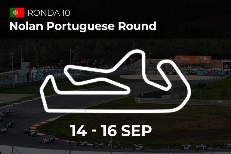 Ronda portuguesa Nolan: 14-16 Sep. 2018