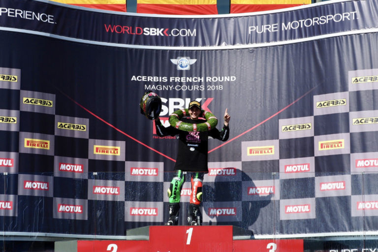 Ride like a girl: Carrasco makes history to become WorldSSP300 Champion