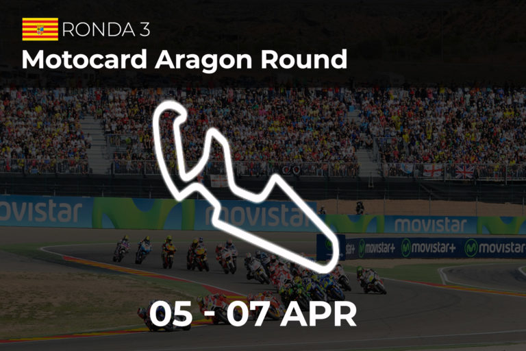 Motocard Aragon Round